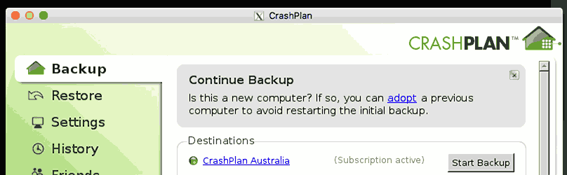 Creating a CrashPlan container on Proxmox to back up your files