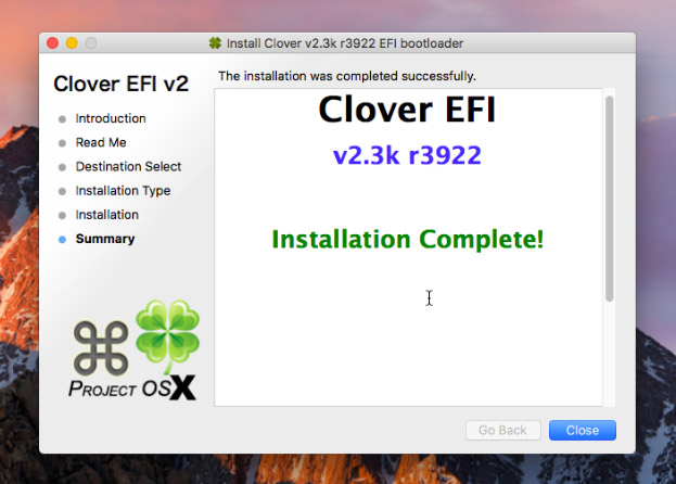 Using Clover UEFI boot with Sierra on Proxmox – Nicholas Sherlock
