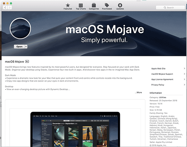 Installing macOS Mojave 10 14 on Proxmox 5 2 – ITSolutionDesign