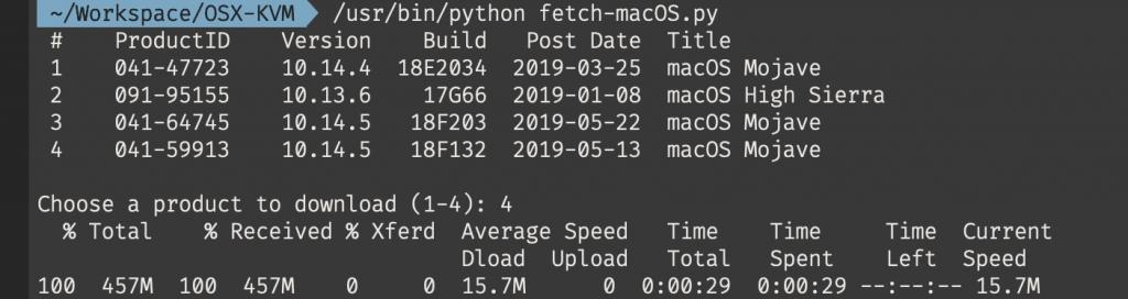 Installing macOS Mojave 10 14 on Proxmox 5 4 – Nicholas Sherlock